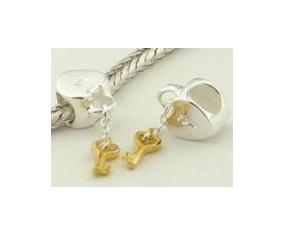 """Přívěsek na náramek """"Key of Heart"""" 925 Sterlingové stříbro"""