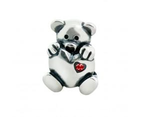"""Přívěsek na náramek """"Loving Teddy"""" 925 Sterlingové stříbro"""