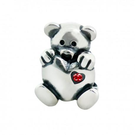 """Přívěsek na náramek """"Loving Teddy""""925 Sterlingové stříbro"""