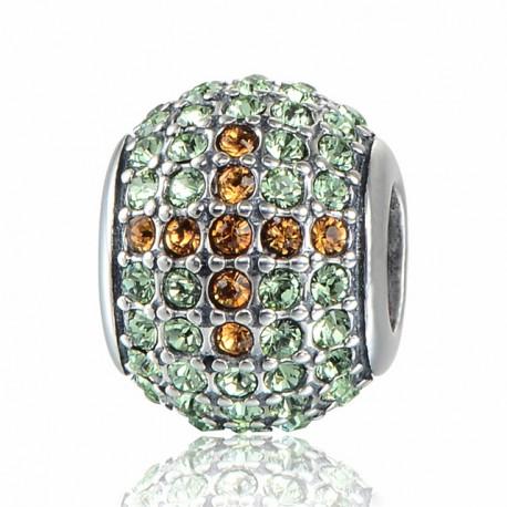 """Přívěsek na náramek """"Diamond Cross"""" 925 Sterlingové stříbro"""