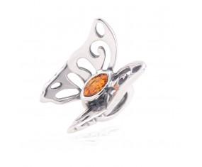 """Přívěsek na náramek """"Meadow Butterfly"""" 925 Sterlingové stříbro"""