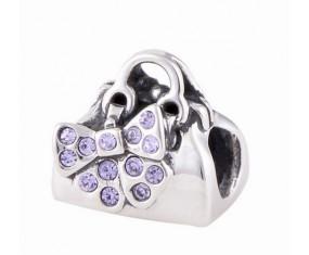 """Přívěsek na náramek """"Bow bag"""" 925 Sterlingové stříbro"""