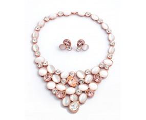Luxusní náhrdelník s náušnicemi
