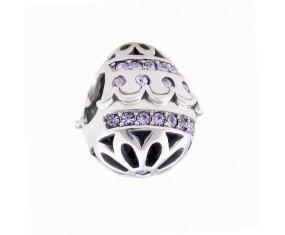 """Přívěsek na náramek """"Violet temple"""" 925 Sterlingové stříbro"""