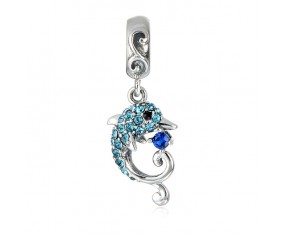 "Talisman na náramek ""Dolphin Charm"" 925 Sterlingové stříbro"