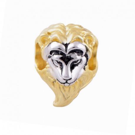 """Přívěsek na náramek """"Furry Lion"""" 925 Sterlingové stříbro"""