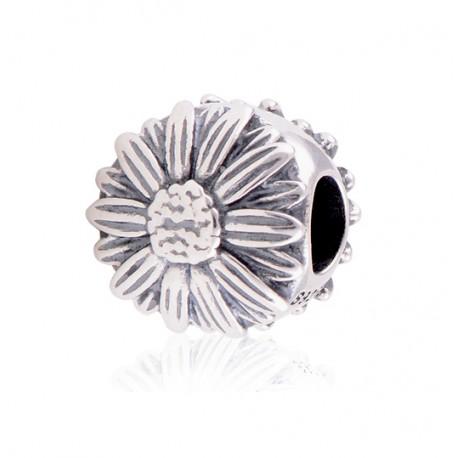 """Přívěsek na náramek """"Blooming Daisy"""" 925 Sterlingové stříbro"""