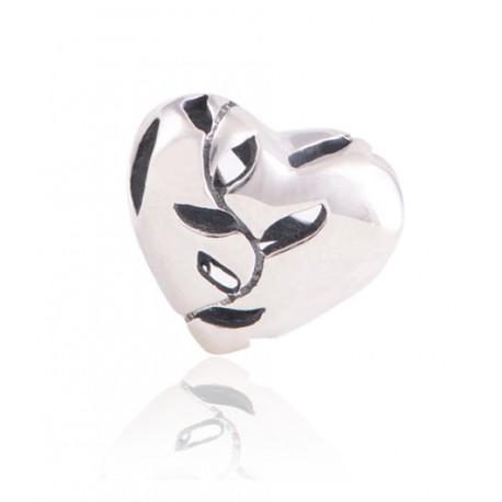 """Přívěsek na náramek """"Living Heart"""" 925 Sterlingové stříbro"""