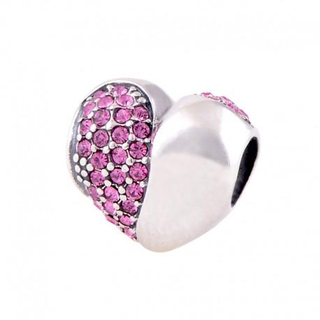 """Přívěsek na náramek """"Romantic Heart"""" 925 Sterlingové stříbro"""