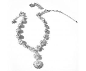 """Souprava """"Marquise"""" (náhrdelník s náušnicemi)"""