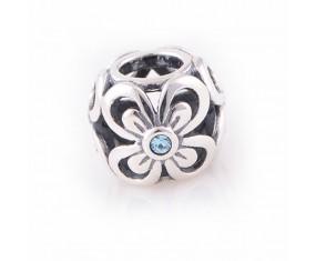 """Přívěsek na náramek """"Bow Flower"""" 925 Sterlingové stříbro"""