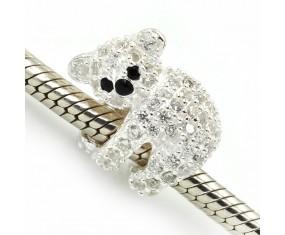 """Přívěsek na náramek """"Cute Koala"""" 925 Sterlingové stříbro"""