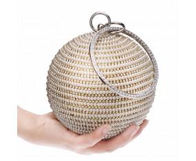 "Dámská kabelka ""Beaded balloon"" stříbrná"