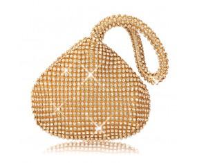 """Zlatá večerní kabelka """"Small Bag"""""""