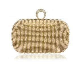 """Dámská třpytivá kabelka """"Gold Diamond"""""""