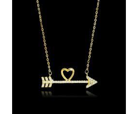 """Řetízek s přívěskem """"Arrow of Love"""""""