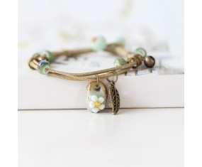 "Náramek Natural styl ""Bali Beads"""