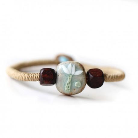 "Náramek Bali Beads ""Frangipani"""