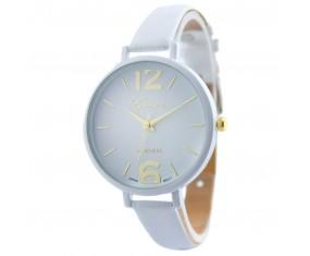 Dámské hodinky s bílým páskem