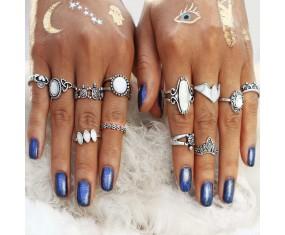 "Sada prstýnků ""Opal Stone"""