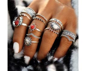 "Sada prstýnků ""Antic Shapes"""