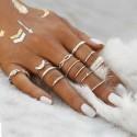 """Sada prstýnků """"Mystic Boho silver"""""""