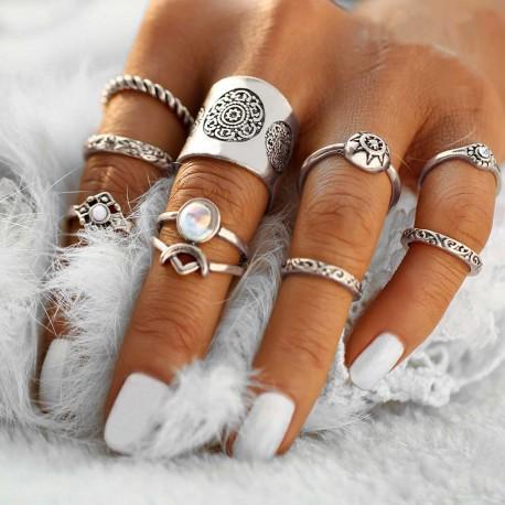 """Sada prstínků """"Siam Moon"""""""