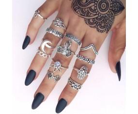 "Sada prstýnků ""Indic Surya"""