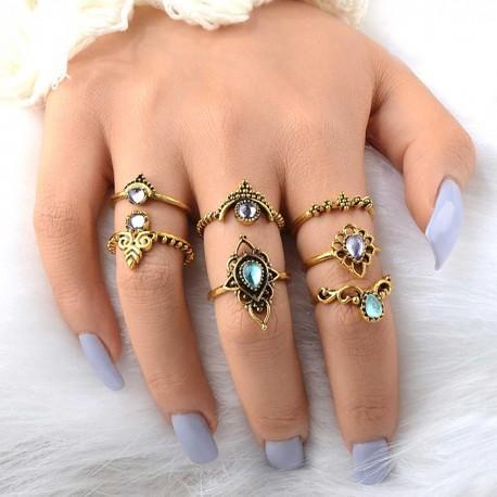 "Sada prstýnků ""Bohemian"""