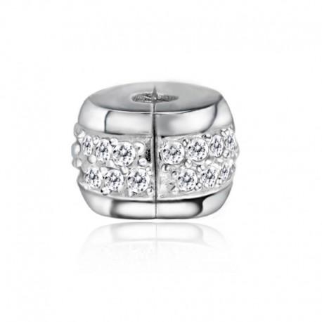 """Zacvakávací korálek """"Crystal"""" 925 Sterlingové stříbro"""
