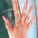 "Sada prstýnků ""Douha Flower"""