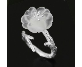 """Stříbrný prsten """" Apple Tree Blossom"""""""