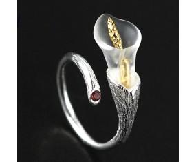 "Stříbrný prsten ""Blooming Branch"""