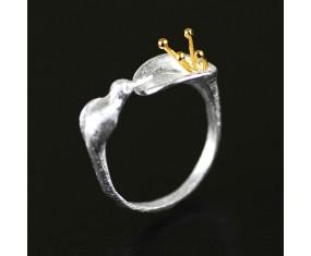 """Stříbrný prsten """"Silver Blossom"""""""