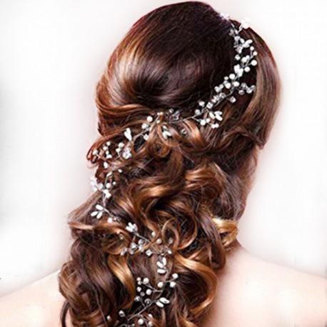 """Svatební ozdoba do vlasů """"Lovely Tiara"""" Silver"""