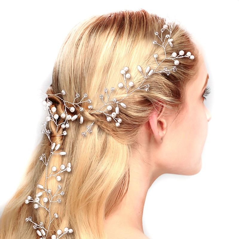 Svatebni Ozdoba Do Vlasu Lovely Tiara Silver