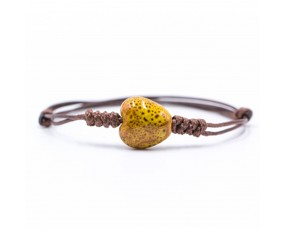 "Náramek Bali Beads ""Heart"""