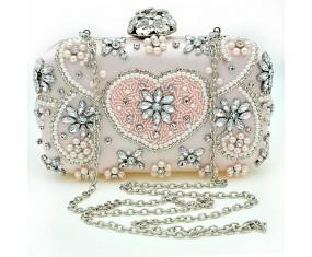 """Společenská kabelka """"Pale Pink"""""""