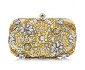 """Malá společenská večerní kabelka """"Golden Diamond"""""""