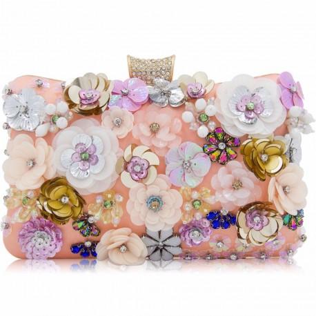 """Luxusní společenská kabelka """"Flower bed"""""""