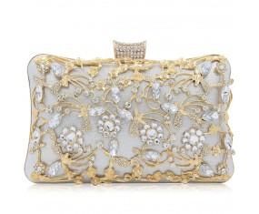 """Luxusní večerní kabelka """"Pure Silver"""""""
