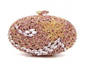 """Luxusní večerní kabelka """"Purple Diamond"""""""