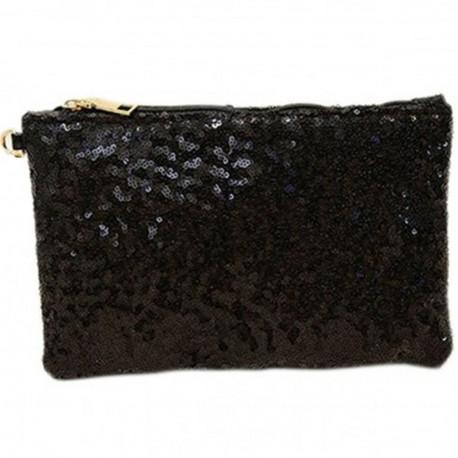 Malá společenská dámská kabelka-černá