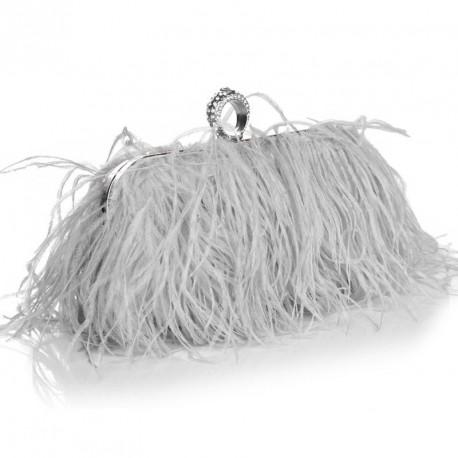"""Luxusní večerní kabelka """"Feather Dream"""""""