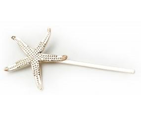 Spony do vlasů - Hvězdice (zlatá)