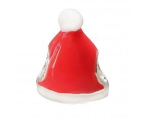 Přívěsek na náramek ve tvaru Santovy čepice