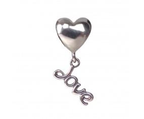 """Přívěsek na náramek """"Deep love"""" 925 Sterlingové stříbro"""