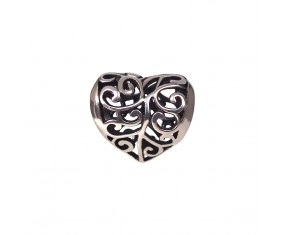 """Přívěsek na náramek """"Knitted Heart"""" 925 Sterlingové stříbro"""