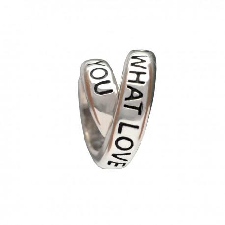 """Přívěsek na náramek """"Secret of Love"""" 925 Sterlingové stříbro"""