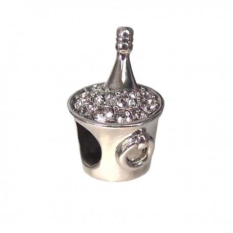 """Přívěsek na náramek """"My Luxury Champagne"""" 925 Sterlingové stříbro"""